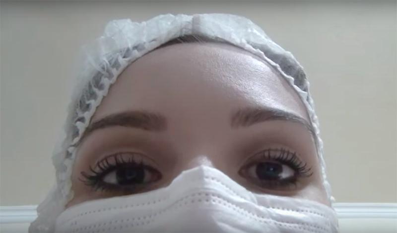 Técnica ASMR, simulando Limpeza de Pele