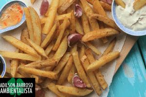 A batata é rica em carboidratos e amido.Ele também contém água e fibra alimentar em grande proporção,contém também muitas vitaminas tais:(foto divulgação)