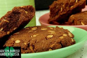 Cookies de batata doce e chocolate veja que receita espetacular:(foto divulgação)