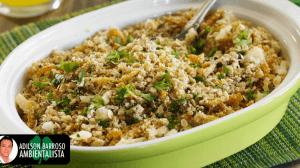 A farinha de mandioca pode ser uma boa aliada para sua dieta veja,e aprenda uma receita muito saborosa:(foto divulgação)