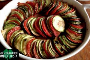 A berinjela é uma boa aliada para perca de peso.Veja uma receita deliciosa e saudável.:(foto divulgação)