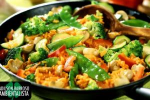 Veja uma receita deliciosa com legumes,veja o quão benéfico eles são a sua saúde.:(foto divulgação)