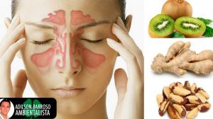 Sofre com sinusite?Conheça os 3 alimentos que podem de ajudar.:(foto divulgação)