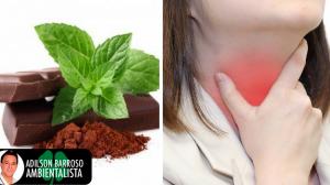 Chocolate 70% cacau fará bem para sua garganta inflamada,veja porque.:(foto divulgação)