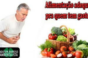 Veja uma dieta para quem tem Gastrite ou úlcera,e não sofra mais com dores e desconforto.:(foto divulgação)