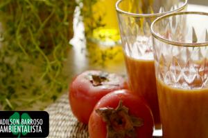Aprenda utilizar o caqui de uma forma deliciosa e com muitos nutrientes para vida.:(foto divulgação)