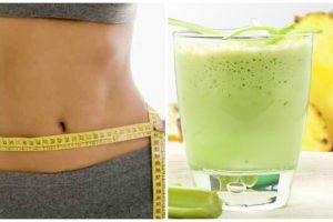Elimina a gordura, esvazia a barriga e limpa o cólon com este batido natural