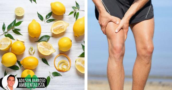 Remédio com limão para aliviar dores nas articulações e cólicas