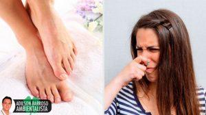 Prepare o seu próprio talco seco para eliminar o mau cheiro dos pés